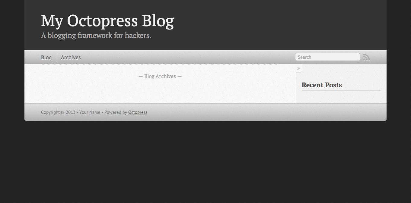 Octopress + Github Pagesな環境構築 - kobtea net